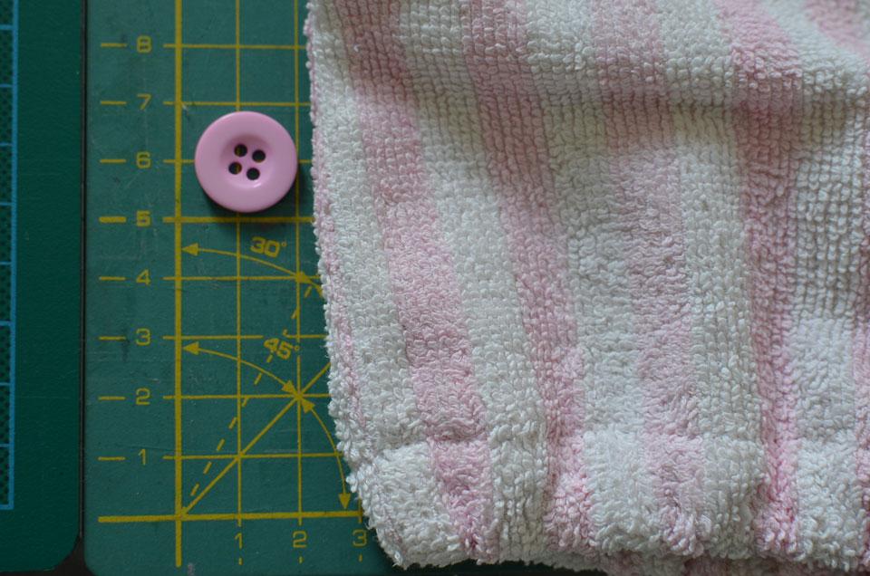 tutorial patrón toalla turbante pelo