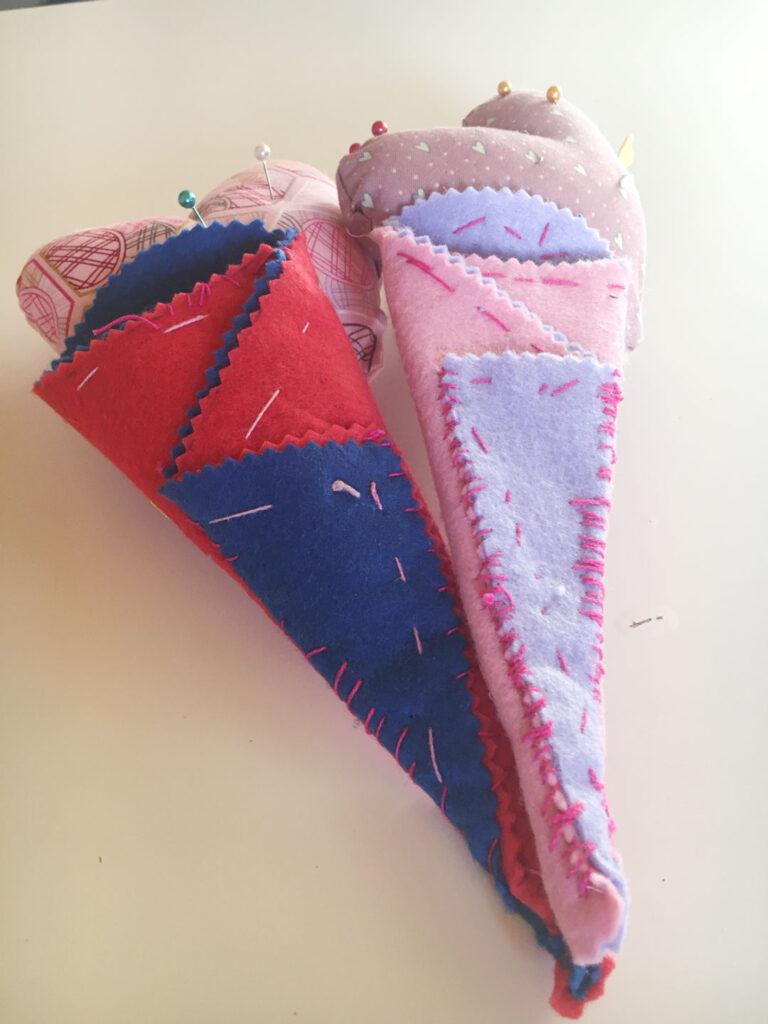enseñar los niños a coser